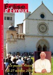 N° 20 - 14 novembre 2011 - Diocèse d'Evreux