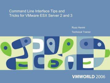 Command Line Interface Tips and Tricks for VMware ESX Server 2 ...