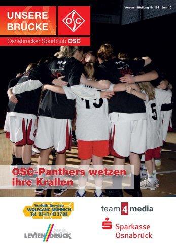 OSC-Panthers wetzen ihre Krallen - Osnabrücker Sportclub OSC