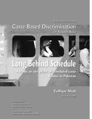 Long Behind Schedule - International Dalit Solidarity Network