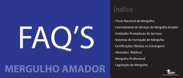 MERGULHO AMADOR - Instituto do Desporto de Portugal