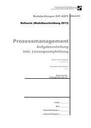 Management Prozessmanagement Lösungsempfehlung / PDF
