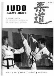 DJB-Magazin Nr. 3 - Chronik des deutschen Karateverbandes