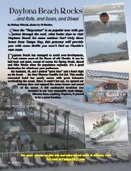 Daytona Beach Rocks - Accent on Tampa Bay Magazine
