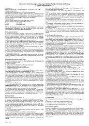 Allgemeine Versicherungsbedingungen für den Rundum ... - Orange