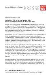 FDP verliert auf ganzer Linie - Angelika Weikert, MdL