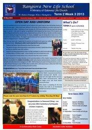 2013 Term 2 Week 3 - rnls.school.nz