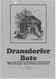 44/2001 - Ortsausschuss Dransdorf