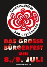 Innenstadtfete 2011 - Bad Oeynhausen - Owl-go