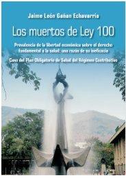 Los muertos de la Ley 100-Libro