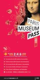 JOURS DAYS VALABLE VALID ANS - Paris Museum Pass