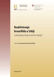Reaktiviranje braunfilda u Srbiji - Stalna konferencija gradova i opština