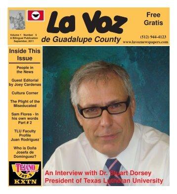 La Voz de Seguin September 2011.pmd - La Voz Newspapers