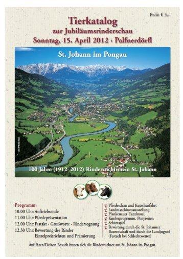 Kat. St. Johann 1-26 - Rinderzuchtverband Salzburg