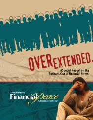 A Special Report on the Business Cost of Financial Stress.