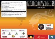 NAIDOC Program 2013 (PDF, 560KB) - Campbelltown City Council