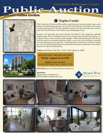 Download Naples Condo Brochure - Murray Wise Associates