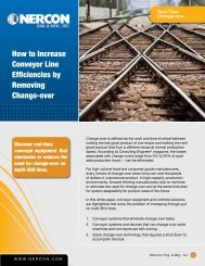 How to Increase Conveyor Line Efficiencies by Removing Change ...