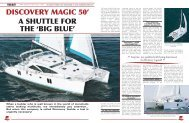 a shuttle for the 'big blue' discovery magic 50' - Multihulls World