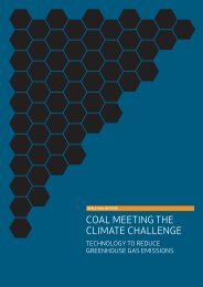 Coal Meeting the Climate Challenge report - World Coal Association