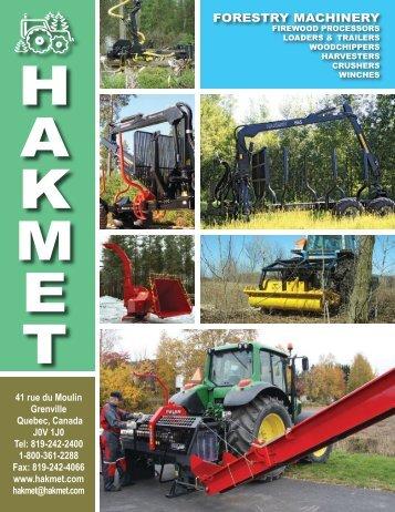 Read Brochure Online - Hakmet