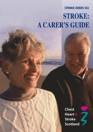 SS2 - A Carer's Guide - Chest Heart & Stroke Scotland