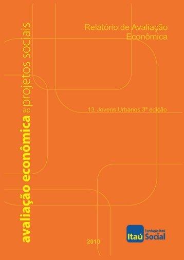 Avaliação Econômica do Programa Jovens Urbanos – 3ª edição