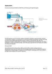 Robert Bosch GmbH, Abteilung DS-CV/EGT1 Seite: 1/2 Diplomarbeit:
