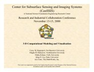 Finite Differences - Center for Subsurface Sensing & Imaging ...