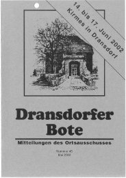 45/2002 - Ortsausschuss Dransdorf