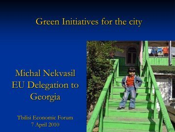 Green initiatives for the city