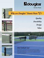 Tennis Posts - Douglas Sports Nets and Equipment