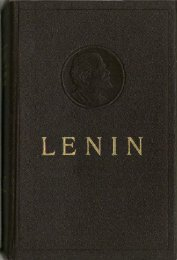 Collected Works of V. I. Lenin - Vol. 33 - From Marx to Mao