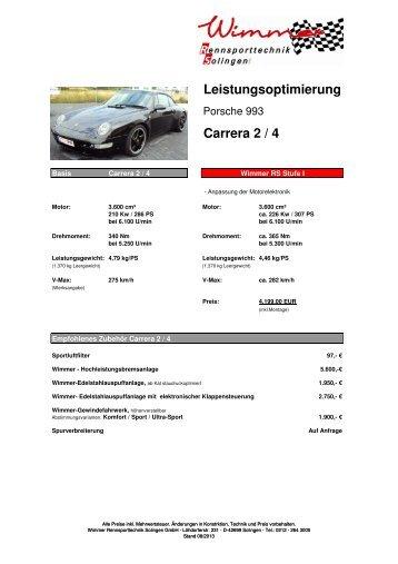 Porsche 993 Carrera 2und4 286 PS Stufe I- III.pdf - Wimmer ...