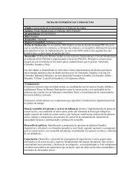 FICHA DE EXPERIENCIAS Y PROYECTOS -Título ... - IEPALA