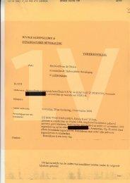 Vertrouwelijk rapport antecendentenonderzoek ... - EenVandaag