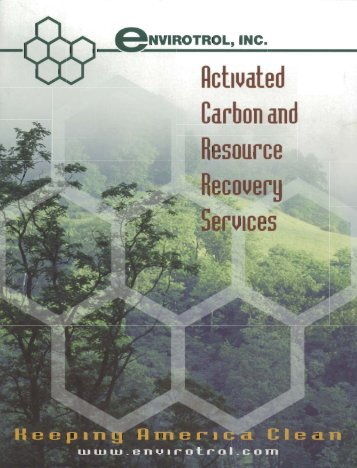 Activated Carbon and Resource Recovery Services - IDS-Environment