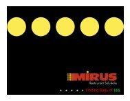 MIRUS Intelligence - Hospitality Technology