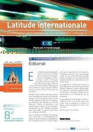 Latitude Internationale n°34 - CIC