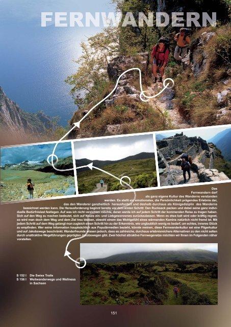 Fernwandern: Swiss-Trails - Outdoor-Touristik