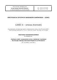 Umowa - meble ul. Namysłowska - ZOJM