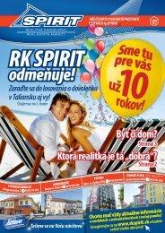 01/2012 - RK Spirit