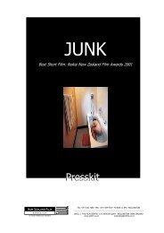 Junk Press Kit - New Zealand Film Commission
