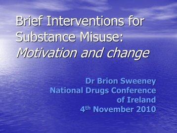 Dr Brion Sweeney - Drugs.ie
