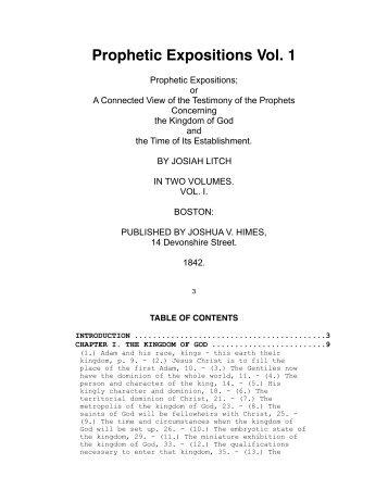 Litch – Prophetic Expositions Vol. 1.pdf - Centro de Pesquisas Ellen ...