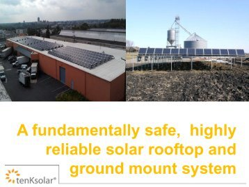 tenKsolar solar PV - Clean Energy Resource Teams