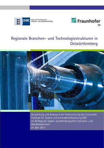 Regionale Branchen- und Technologiestrukturen in Ostwürttemberg