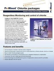 Chlorite packages