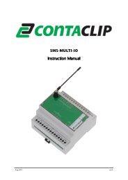 Manual SMS-Multi I/O rev4 - CONTA-CLIP