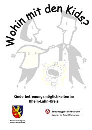 Kinderbetreuung Rhein-Lahn